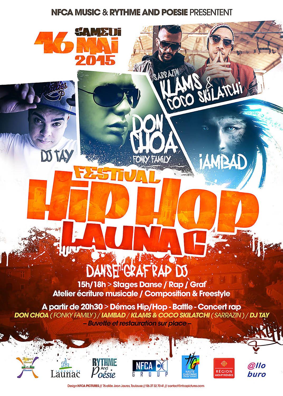 Festival hip hop Launac